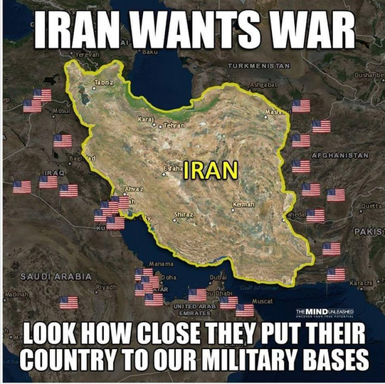 Iran the warmonger nation