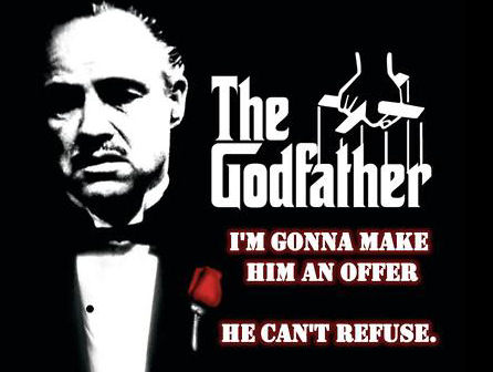 An offer he can't refuse