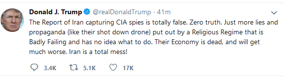 Trump spy tweet