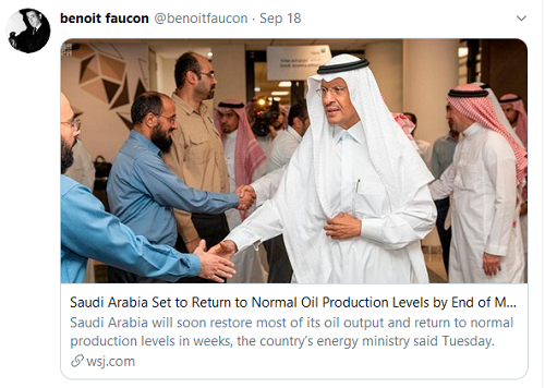 Normal oil production